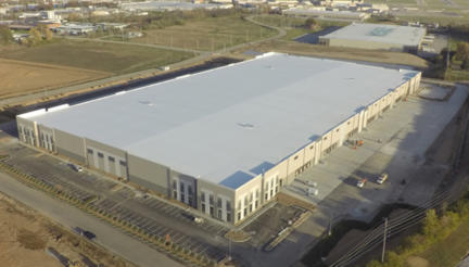 Hazelwood Logistics Center building