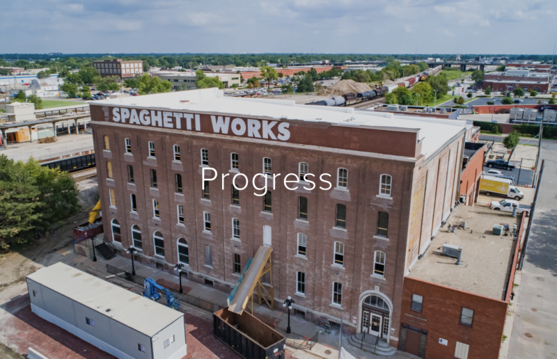 Spaghetti Works District renovation